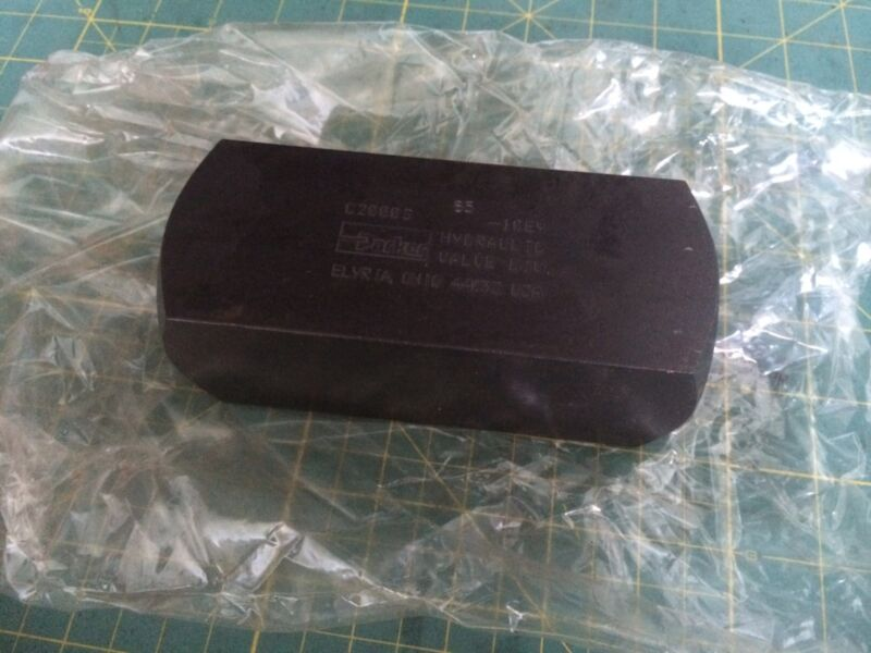 Parker Hydraulic Check Valve C2000S - 65 NEW