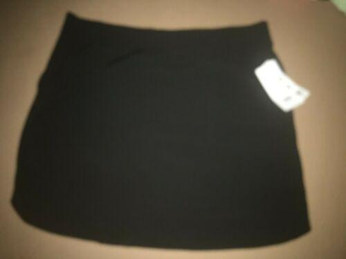 RBX Plus Skort  Size 2X black New Hidden Pocket  New