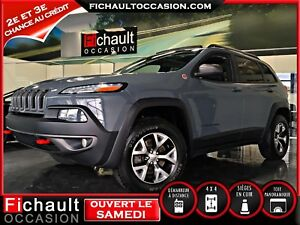 Jeep Cherokee Trailhawk *** V6 CUIR TOIT PANORAMIQUE**