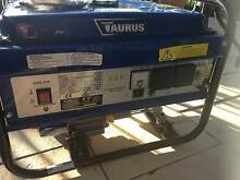 Taurus Generator - 15 litre – 2200W – nearly new Helensvale Gold Coast North Preview