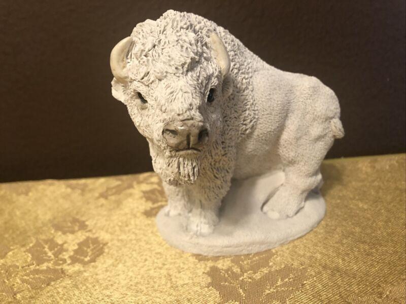 United Designs Corp. Figurine White Buffalo  1992