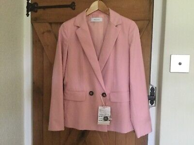 IBLUES DOUBLE BREASTED BLAZER SIZE 8 NWT