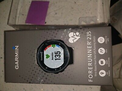 Garmin Forerunner 235 GPS Watch with Heart Rate Monitor Black