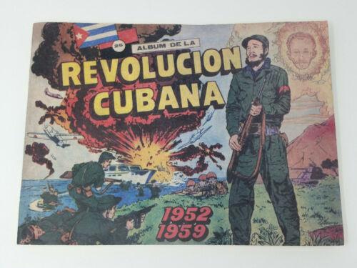 Album de la Revolucion Cubana, 1952-1959 Includes 271 Trading Cards Vintage