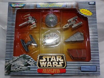 STAR WARS MICRO MACHINES DIE-CAST COLLECTORS SET SEALED