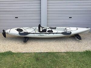 Hobie Mirage drive Revolution 13 Kayak Woody Point Redcliffe Area Preview