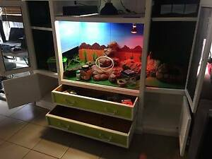 Reptile Terrarium Fully Equipped Sippy Downs Maroochydore Area Preview