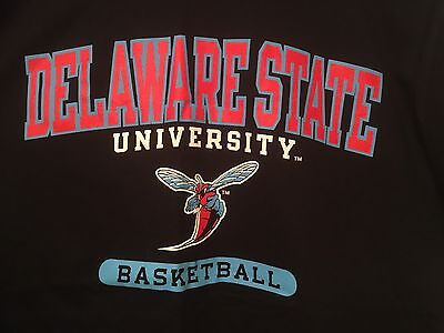 State Hornets Basketball - Delaware State University Shirt New HBCU M Medium Hornets Basketball Tee Black