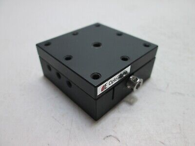 Optosigma 123-3380 40mm Preset Dovetail Stage Dimensions 40mm X 40mm X 18mm