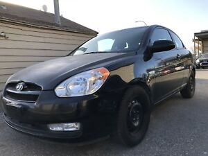 2009 Hyundai Accent  hatchback Very Low km Safetied $3350