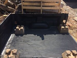 Toyota Tundra truck bed liner