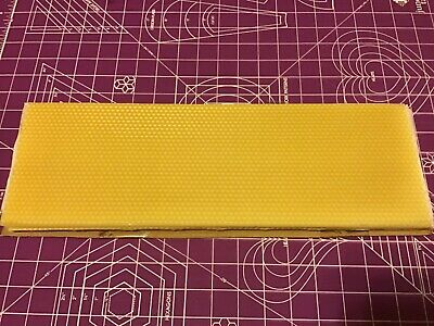 8 Honey Comb Bees Wax Sheets New