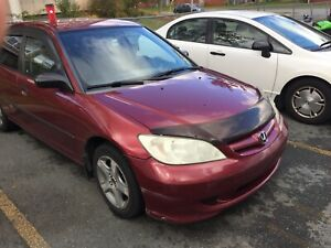 2005 5 speed Honda Civic sedan