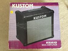 Kustom KBA10 bass amplifier Sydney City Inner Sydney Preview