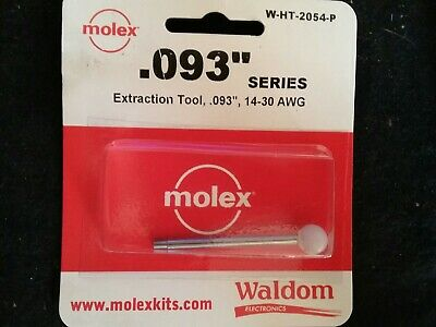 Molex Waldom W-ht-2054 Extraction Tool  14-30 Awg  .093 Series