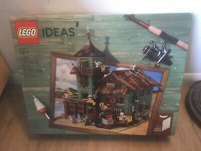 LEGO 21310 Ideas Old Fishing Store New Sealed Box