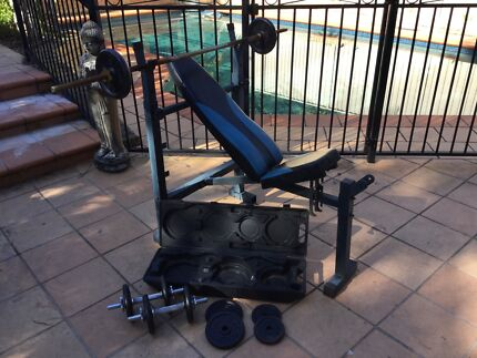 Weight Lifting Training Bench Caringbah Sutherland Area Preview