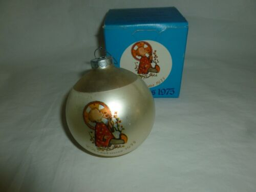 Vintage 1975 Schmid Christmas Child Ornament w/Box, Second in Series  Lot D-874