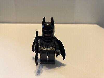 Lego Batman Minifigure - Gray Suit w/ gold belt - BRAND NEW Justice League Sh089