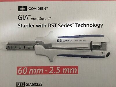 Covidien Gia W Dst Series Technology Ref Gia6025s Exp 2021-01-31 Or Later