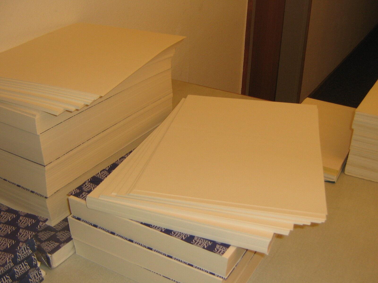 100 Blatt Studien-Aquarellpapier190 g/qm gerippte Struktur A4 Säurefrei weiss