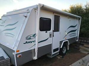 Jayco Expanda Outback Pop Top Caravan (Free delivery to Melbourne)