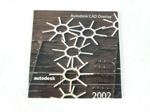 Autodesk CAD OVERLAY 2002 with CD key and serial number