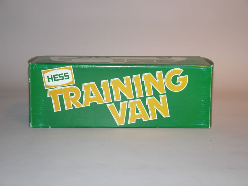 HESS 1980 TRAINING VAN MINT IN THE BOX