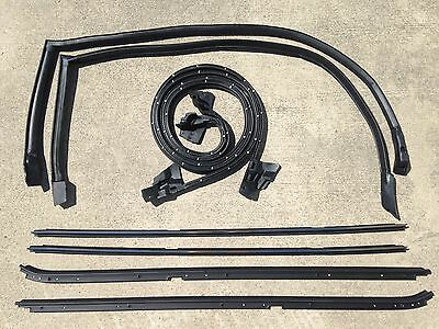 84-87 Buick Regal Grand National 8 pc Hard-Top Weatherstripping Seal -