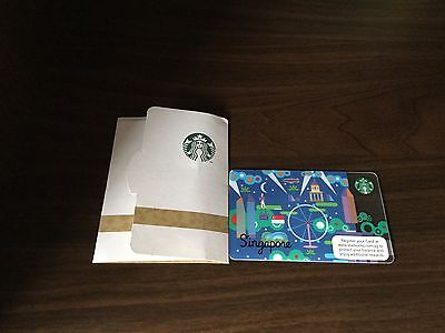 Carnival Gift Card (Starbucks 2013 Singapore Nighttime Carnival Gift Card With Sleeve)