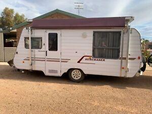 1997 Windsor Sunchaser Poptop Caravan