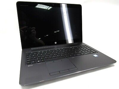 "HP ZBook 15 G3 15.6"" Touch Intel Core i7-6700HQ 2.60GHz 32GB RAM 512GB SSD"