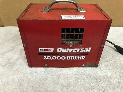 National Riverside Universal 30fas Forced Air Propane Construction Heater