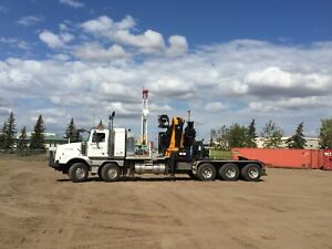 2007 Western Star 4900SA TriDrive With 38 Ton Effer 750 8S