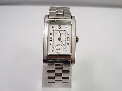 Baume & Mercier Ladies Stainless Steel Hampton Quartz Watch, with box