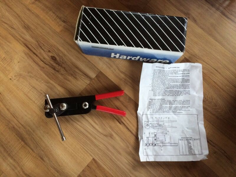 Deluxe Flaring Tool With Box & Instructions