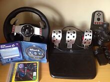 Logitech G27 + 2 Games Bexley North Rockdale Area Preview