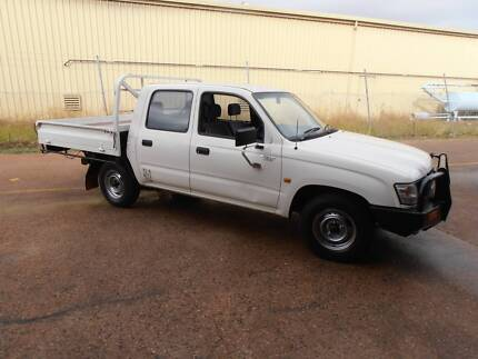 2004 Toyota Hilux 4x2 Dual Cab  Ute Midvale Mundaring Area Preview