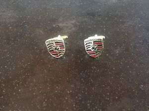 Cuff Links, Genuine Porsche