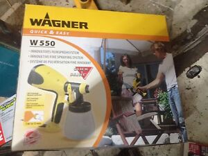 Wagner W550 FineSpray Paint Sprayer Fitzroy Yarra Area Preview