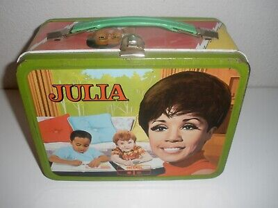 Julia Vintage Metal Lunchbox (1969) by King Seeley Thermos  No Thermos