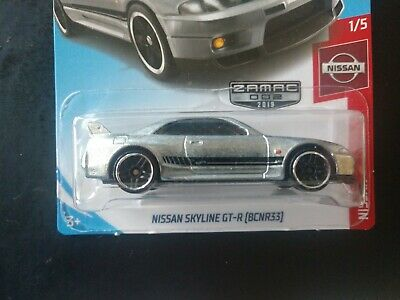 Hot Wheels Nissan Skyline GT-R ZAMAC