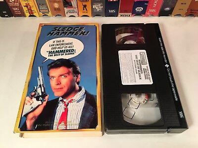 Sledge Hammer! - Hammered: The Best Of Sledge VHS 1980 TV Series David Rasche