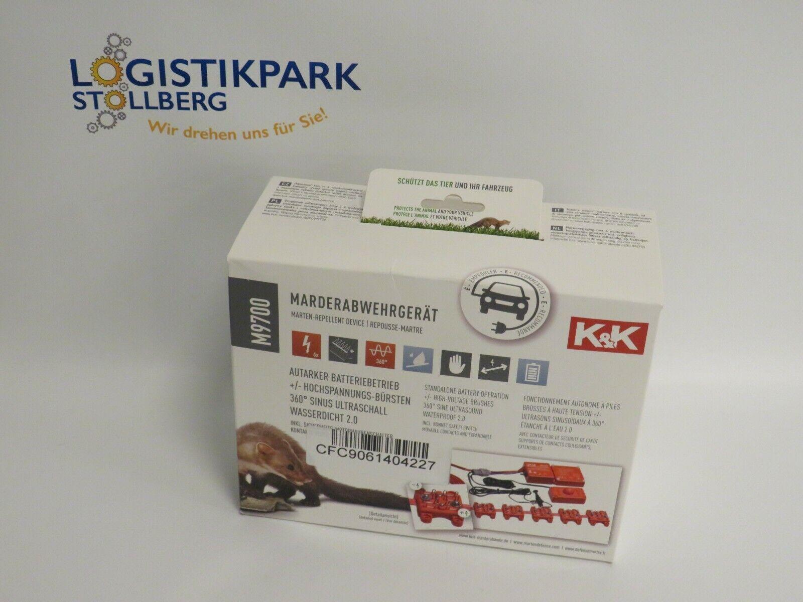 KK Marderabwehr M9700 Marderschutz Hochspannung Batteriebetrieb Wasserdicht
