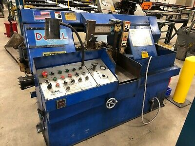 Doall Automatic Feed Horizontal Industrial Band Saw C-305a 12w X 12h