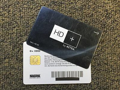 Astra SAT HD02 HD 02 HD+ Karte, abgelaufen, ohne Guthaben
