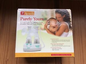 Ameda Purley Yours double electric breast pump