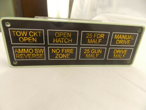 Bradley Fighting Vehicle LED Ammo / Gunner Display Panel