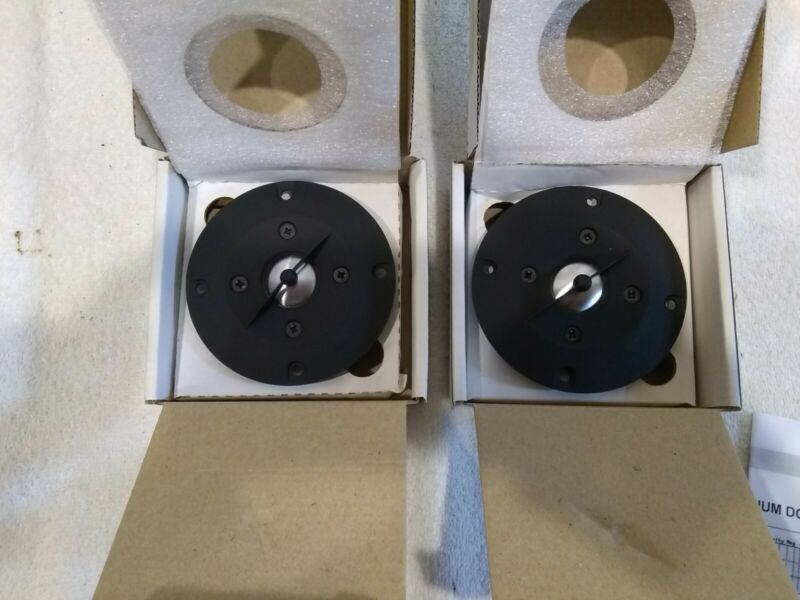 Pair Audax AW025S3 25mm Aluminium Dome Tweeter - NOS