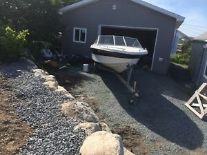 16 ft speed boat and trailer